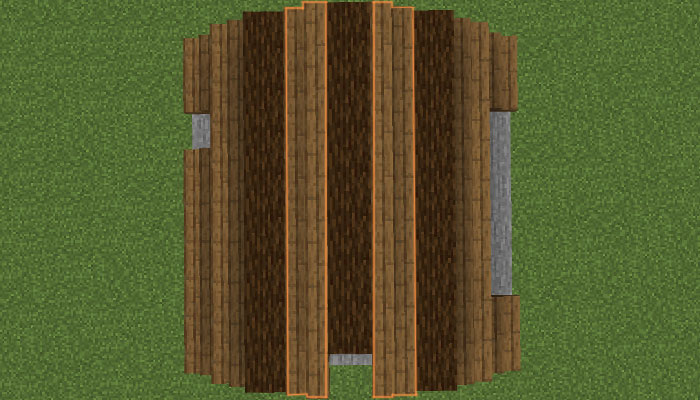 屋根作り(5段目)
