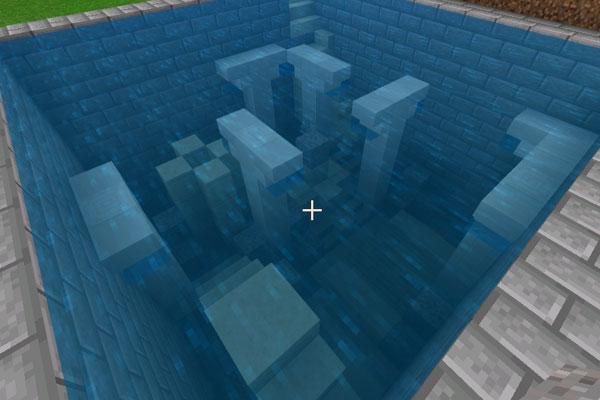 keepで水中遺跡を作る
