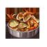 【クラフトピア料理まとめ】魚介のアヒージョ