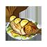 【クラフトピア料理まとめ】揚げ魚の甘酢あんかけ