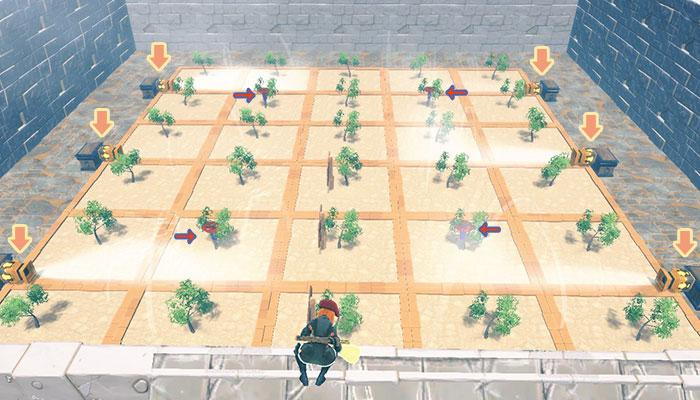 5×6の農場配置例