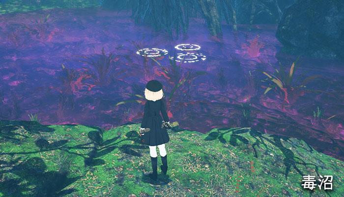 釣り場の毒沼