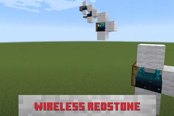無線のレッドストーン回路