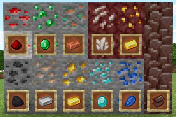 マイクラの鉱石全11種類