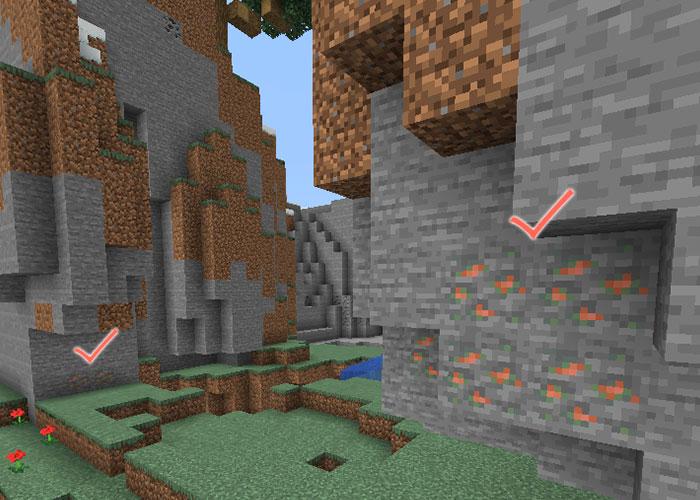 銅鉱石が生成された岩礁