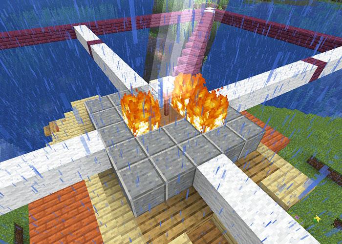 雷による発火