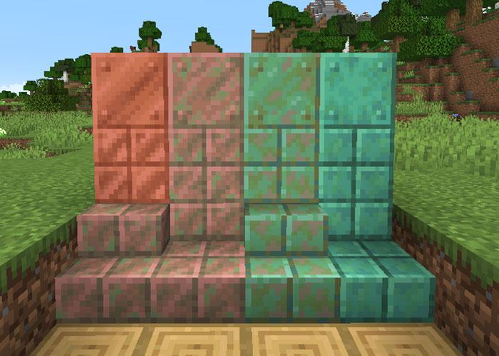 銅ブロックの種類