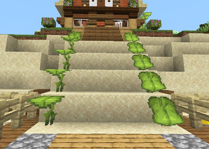 ドリップリーフの階段