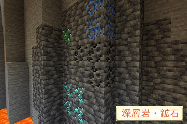 深層岩と深層鉱石