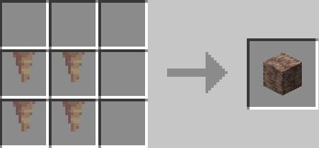 鍾乳石ブロックの作り方