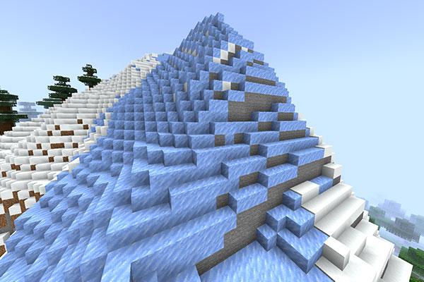 Frozen Peaksバイオーム
