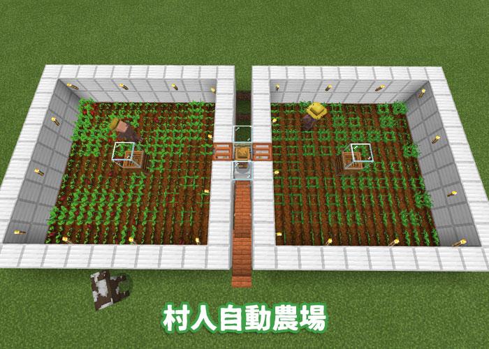 村人自動農場の見た目