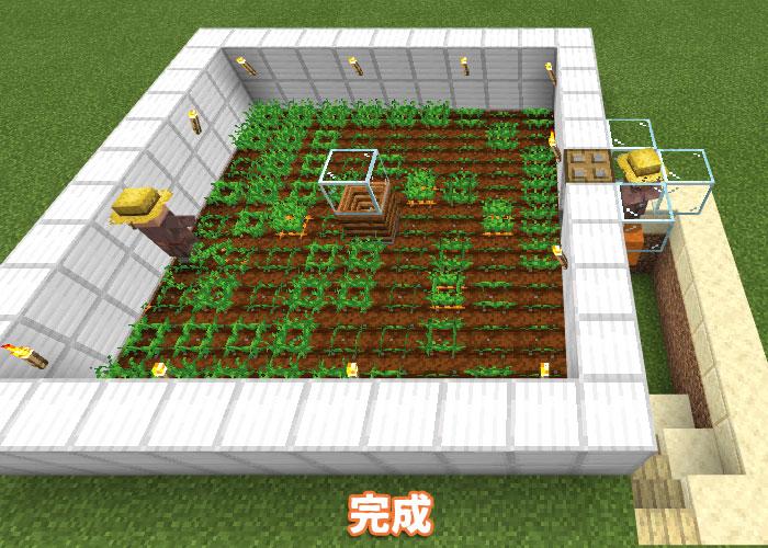 完成した自動農場